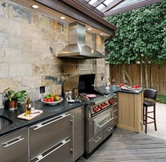 Popular Summer Kitchen Backsplash Ideas34