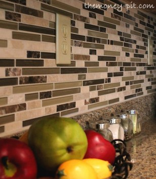 Popular Summer Kitchen Backsplash Ideas38