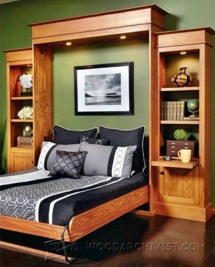 Stunning Diy Space Saving Bed Frame Design Ideas17