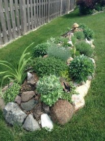 Affordable Rock Garden Landscaping Design Ideas13