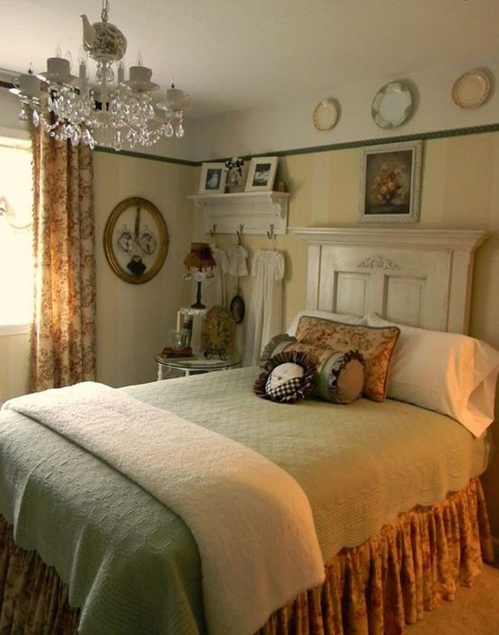 Amazing Farmhouse Style For Cozy Bedroom Decorating Ideas26