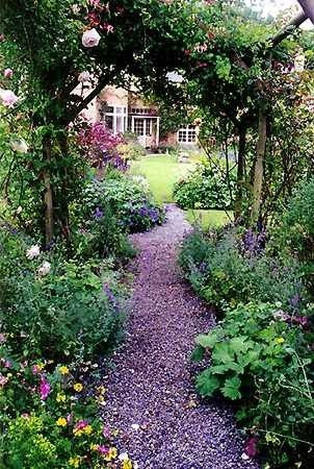 Awesome Cottage Garden Design Ideas For Your Dream House35