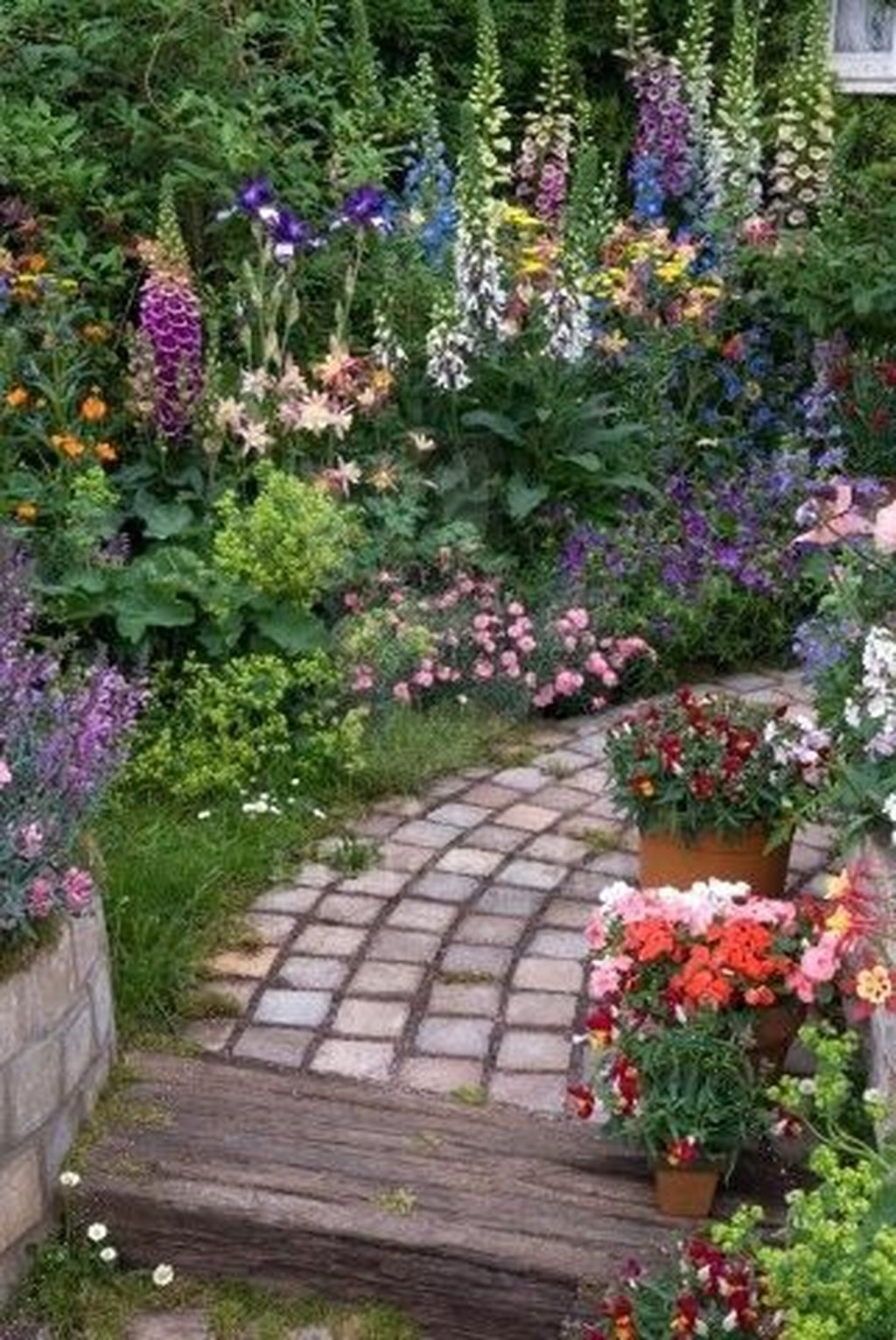 Awesome Cottage Garden Design Ideas For Your Dream House36