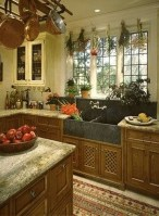 Awesome Farmhouse Kitchen Cabinets Design Ideas11