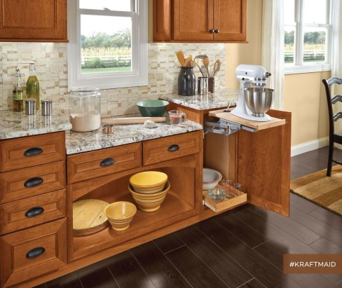 Awesome Farmhouse Kitchen Cabinets Design Ideas25