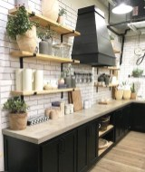 Awesome Farmhouse Kitchen Cabinets Design Ideas33