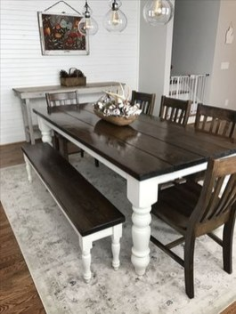 Perfect Farmhouse Dining Room Makeover Ideas06