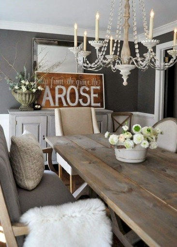 Perfect Farmhouse Dining Room Makeover Ideas15