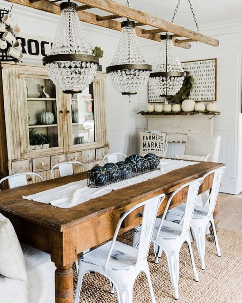 Perfect Farmhouse Dining Room Makeover Ideas24
