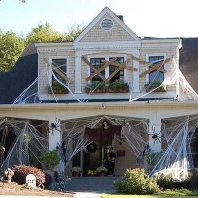 Stunning Diy Outdoor Halloween Decor And Design Ideas39