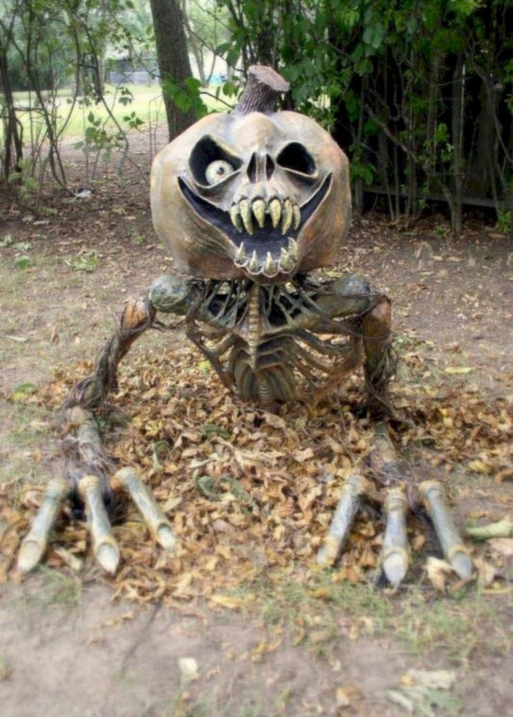 Stunning Diy Outdoor Halloween Decor And Design Ideas42