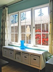 Stunning Window Seat Ideas With Padded Seat And Storage Below05