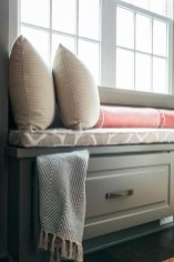 Stunning Window Seat Ideas With Padded Seat And Storage Below35