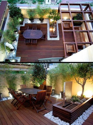 Stylish Backyard Landscaping Ideas For Your Dream House23