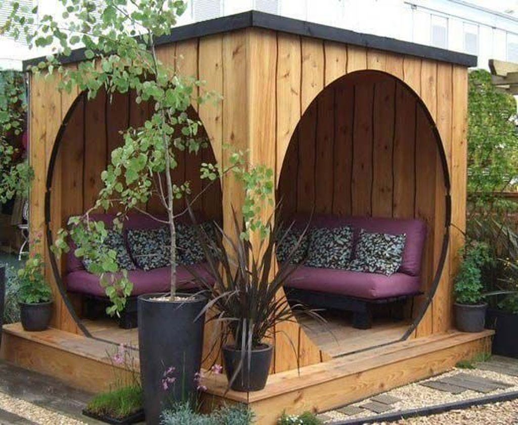 Stylish Backyard Landscaping Ideas For Your Dream House39