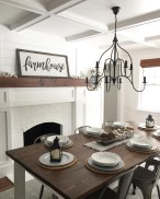Affordable Farmhouse Dining Room Design Ideas02