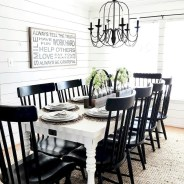Affordable Farmhouse Dining Room Design Ideas07