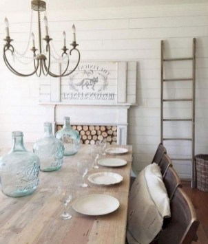 Affordable Farmhouse Dining Room Design Ideas14