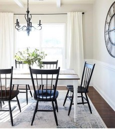 Affordable Farmhouse Dining Room Design Ideas19