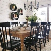 Affordable Farmhouse Dining Room Design Ideas22