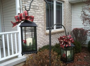 Attractive Front Yard Christmas Decoration Ideas07
