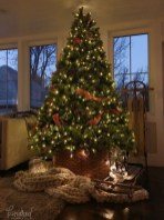 Awesome Vintage Christmas Living Room Decoration Ideas10