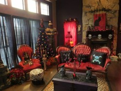Awesome Vintage Christmas Living Room Decoration Ideas16
