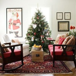 Awesome Vintage Christmas Living Room Decoration Ideas25