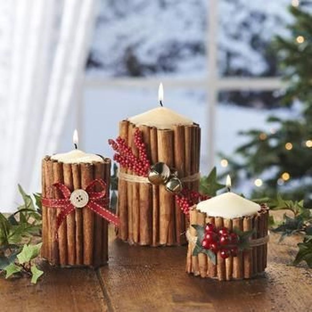 Beautiful Christmas Candle Holders Design Ideas12