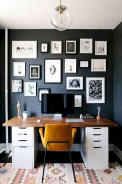 Comfy Home Office Design Ideas For Small Apartment15