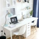 Comfy Home Office Design Ideas For Small Apartment45