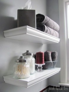 Easy Ideas For Functional Decoration Of Small Bathroom02
