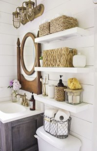 Easy Ideas For Functional Decoration Of Small Bathroom03