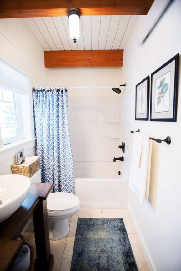 Easy Ideas For Functional Decoration Of Small Bathroom39