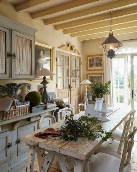 Flawless French Country Style Kitchen Decor Ideas11