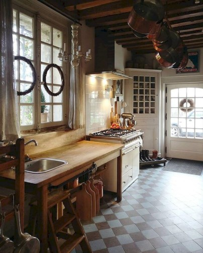 Flawless French Country Style Kitchen Decor Ideas27
