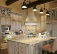 Flawless French Country Style Kitchen Decor Ideas36