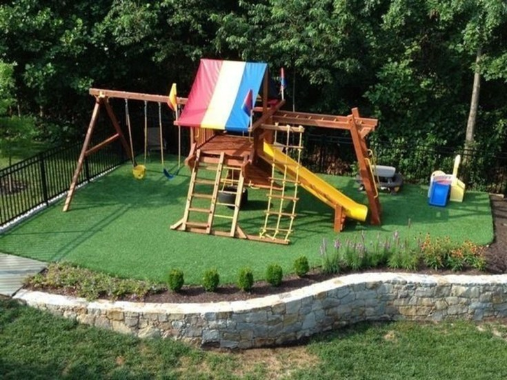 Incredible Backyard Playground Kids Design Ideas01