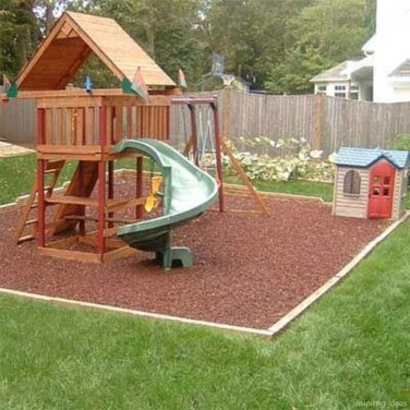 Incredible Backyard Playground Kids Design Ideas15