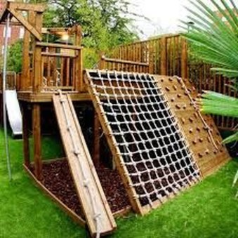 Incredible Backyard Playground Kids Design Ideas21