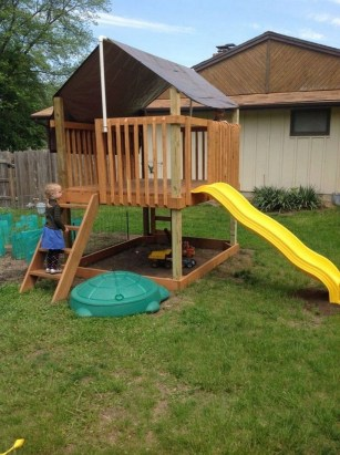Incredible Backyard Playground Kids Design Ideas28