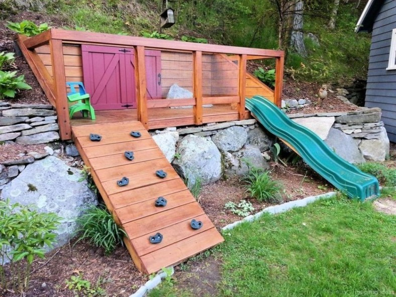 Incredible Backyard Playground Kids Design Ideas31