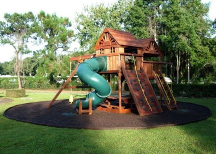 Incredible Backyard Playground Kids Design Ideas35