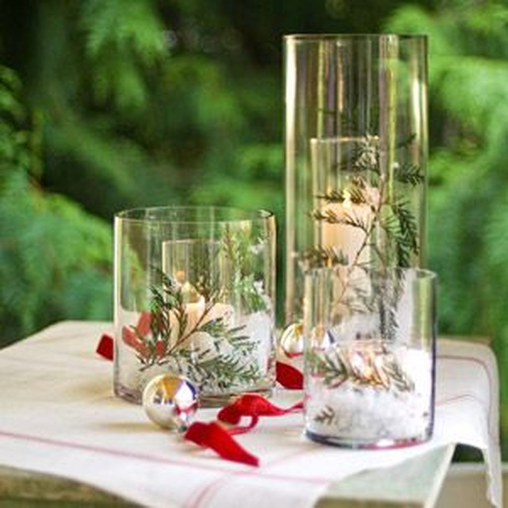 Inexpensive Diy Outdoor Winter Table Decoration Ideas30