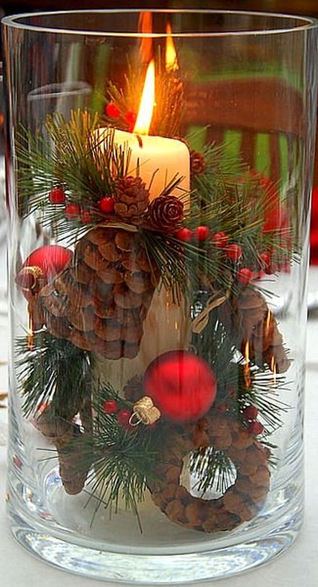 Inexpensive Diy Outdoor Winter Table Decoration Ideas35