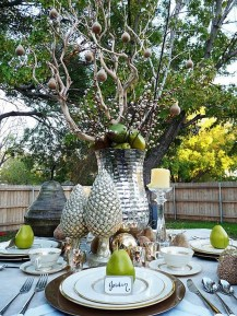 Inexpensive Diy Outdoor Winter Table Decoration Ideas39
