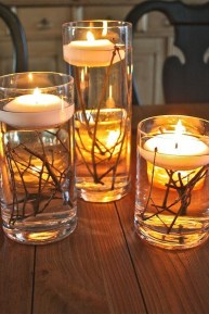 Inexpensive Diy Outdoor Winter Table Decoration Ideas40