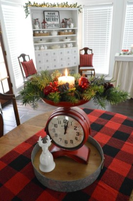 Lovely Christmas Kitchen Decorating Ideas06