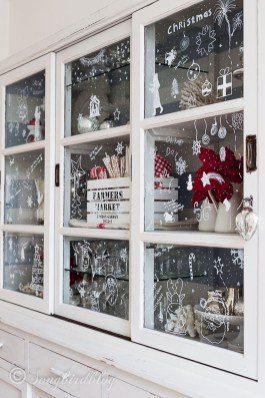 Lovely Christmas Kitchen Decorating Ideas15