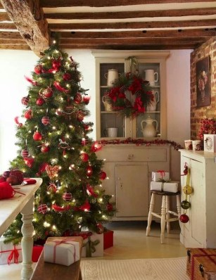 Lovely Christmas Kitchen Decorating Ideas24